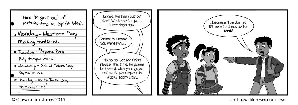 39 - Spirit Week - Day 4