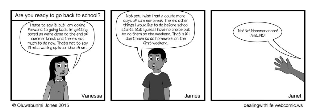 28 - Back to School