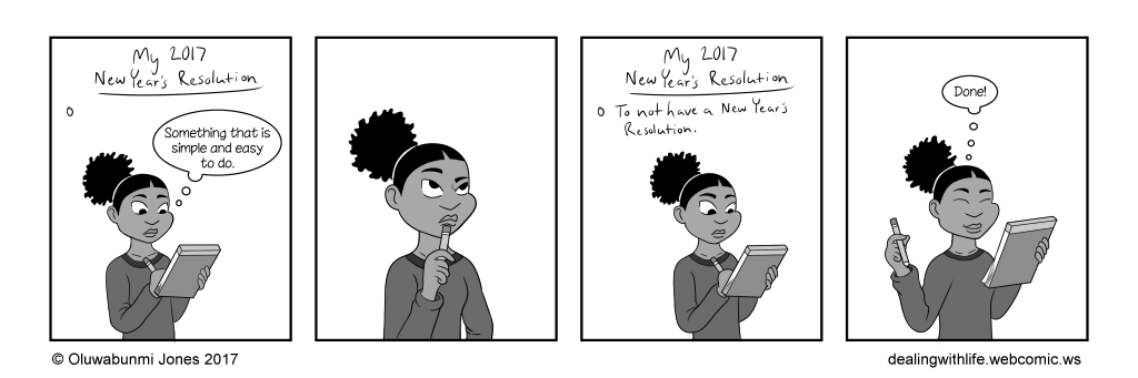 68 - New Year's Resolution