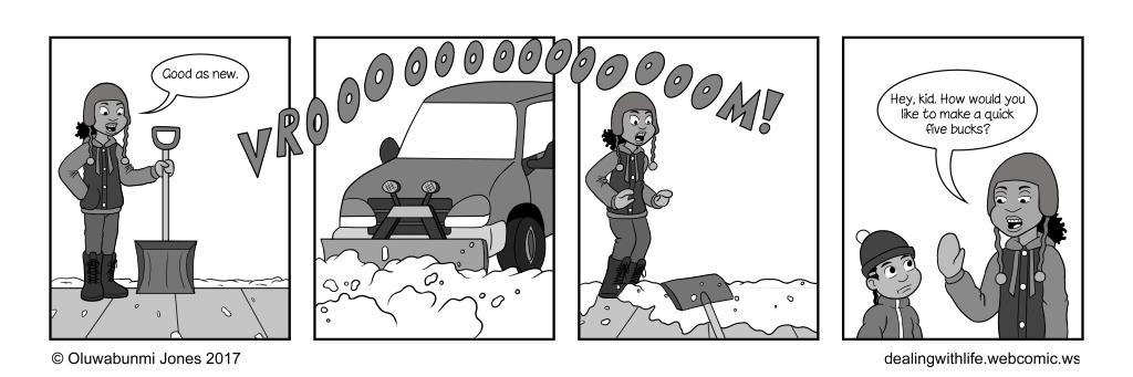 78 - Snow Shoveling